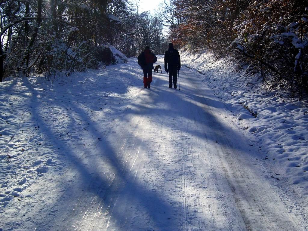 Esztergom-Vaskapu télen Forrás: Trekk.hu (c) Nyáry Tamás