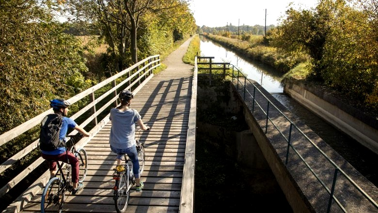 EuroVelo9 termál kerékpárút Forrás: Wienerwald Tourismus_Raimo Rumpler