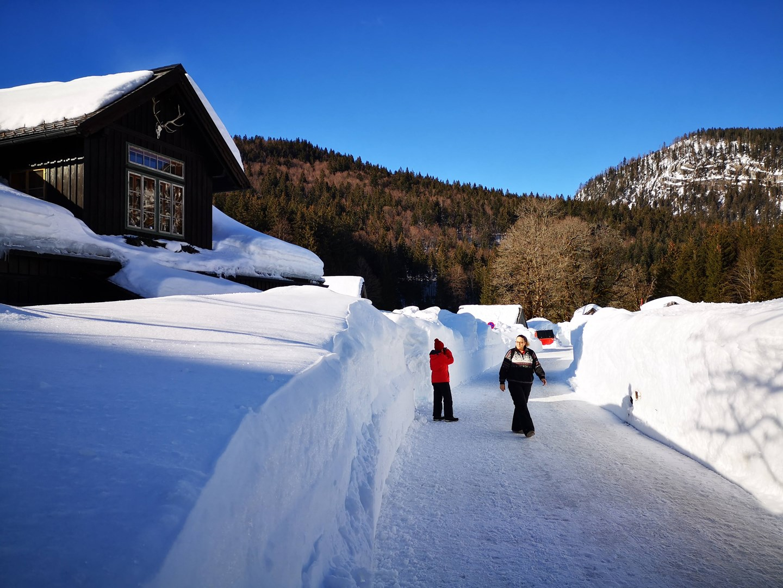 Irányban a téli túraösvény felé Forrás: www.mozgasvilag.hu
