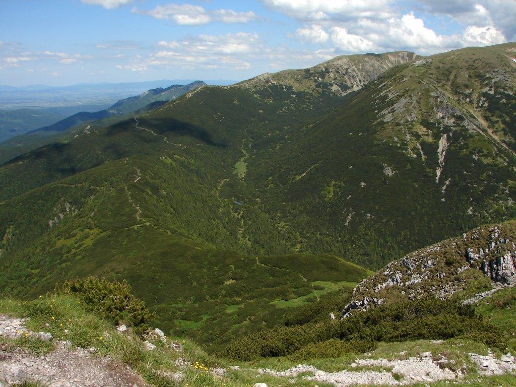 Jalóci-völgyből a Pálenica-hágón át a Szürke-hegyre ForrĂĄs: Nagy Árpád
