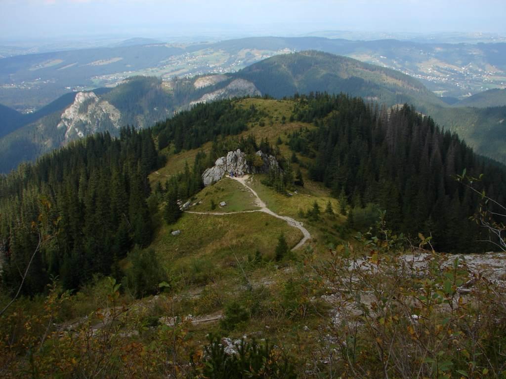 Kiry parkolóból a Lejtős-réten át a Sötét-hegyre Forrás: Nagy Árpád