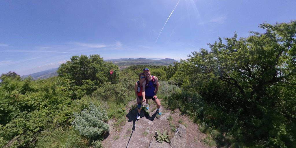 Szent György-hegy kilátópont Forrás: Bárhogy is legyen: mozogj!
