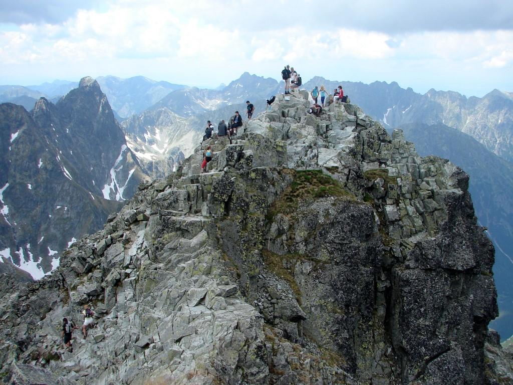 Poprádi-tótól a Hunfalvy-völgyecskén át a Tengerszem-csúcsra ForrĂĄs: Nagy Árpád