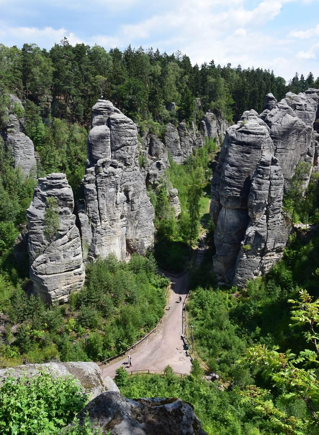 Porladó-sziklák Forrás: Nagy Árpád