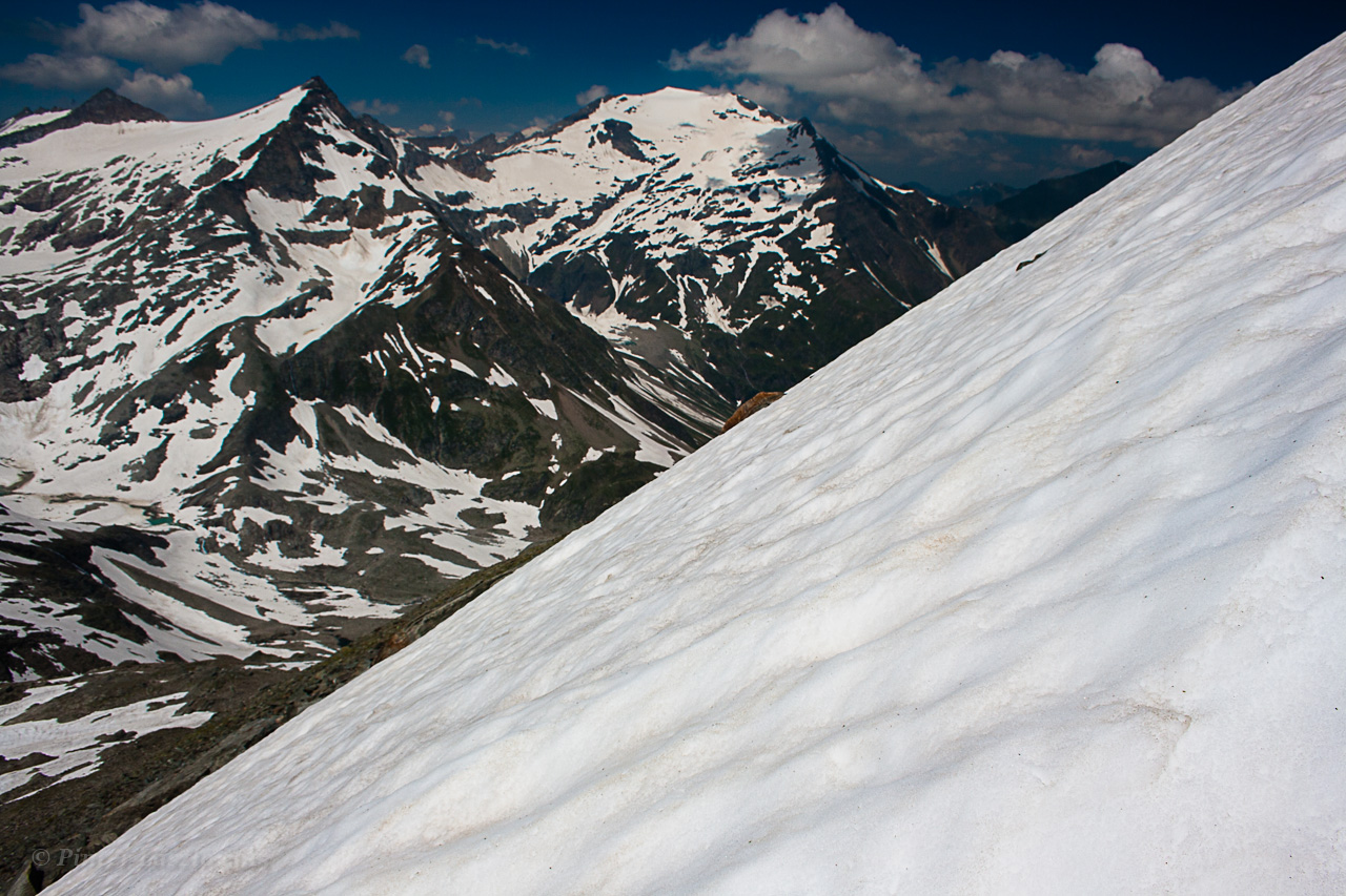 Július eleji felvétel a csúcshoz közel, 2800 m körül ForrĂĄs: Mozgásvilág/Pintér László