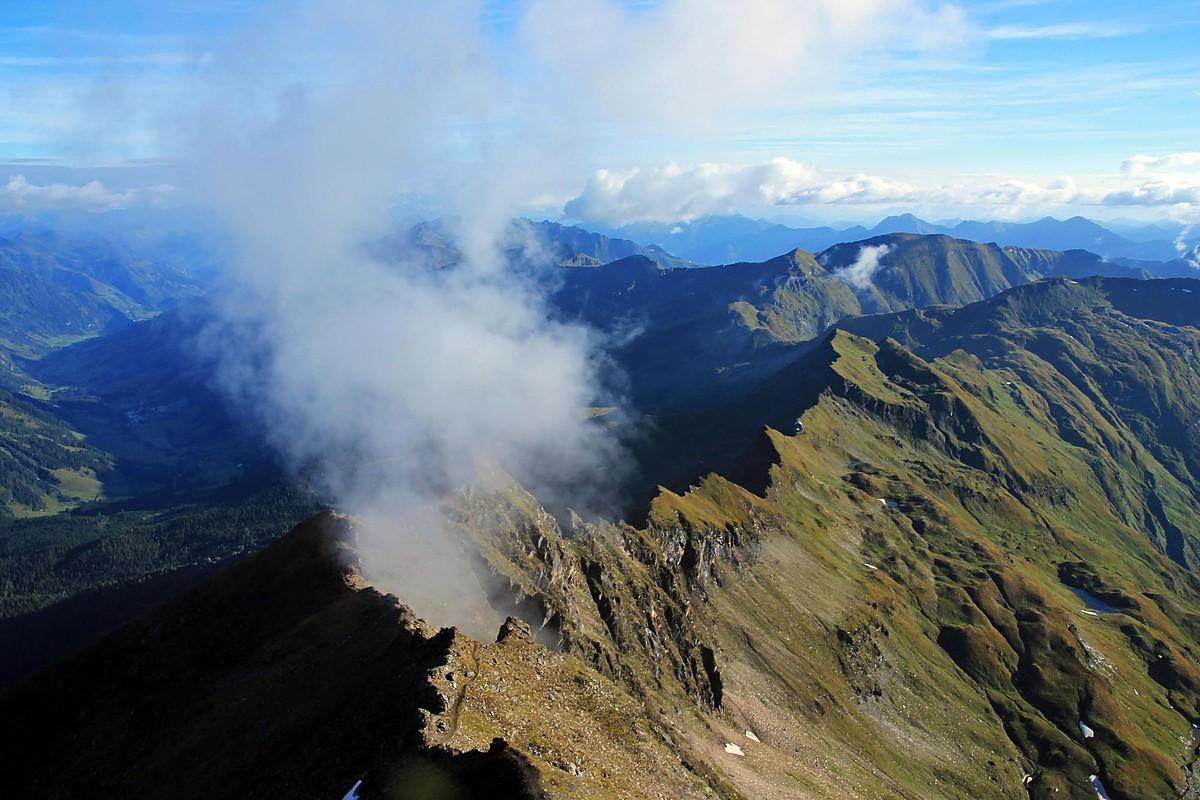 Részlet a Tauernhöhenweg 6 napos túraútból Forrás: www.bergfex.at