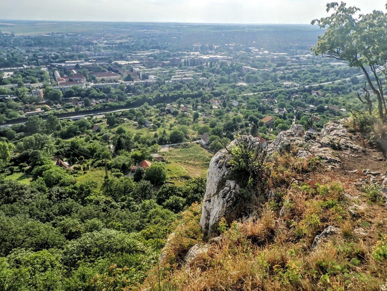 Tatabánya látképe úton a barlang felé Forrás: Nyáry Tamás
