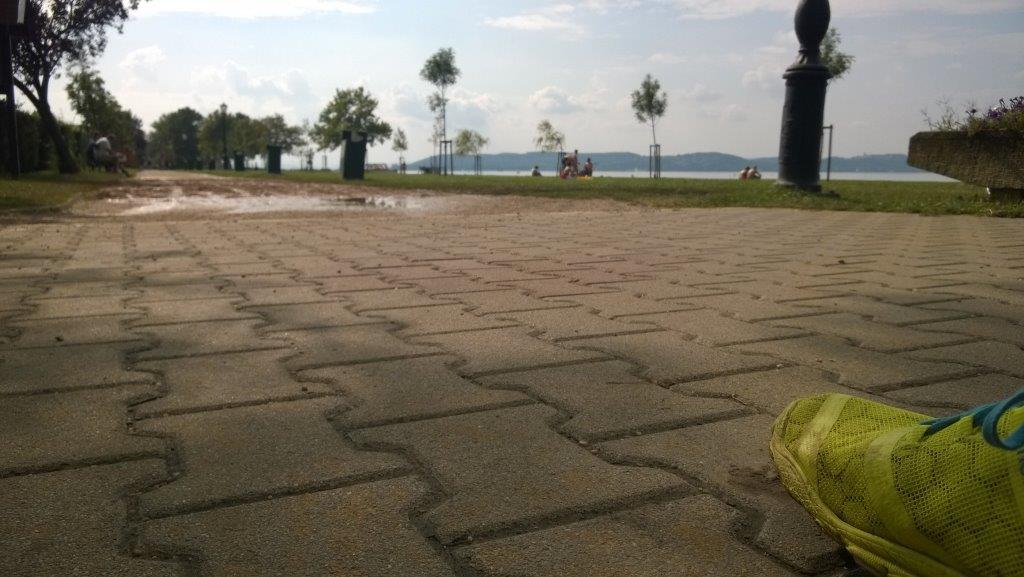 Zamárdi strandról kőhegyi kilátóra ForrĂĄs: Mozgásvilág.hu