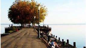 Balatoni kerékpáros kiskör a keleti medence mentén
