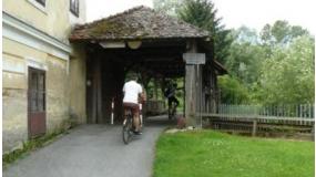 Kerékpártúra a Lapincs mentén, nagyfalvi kereszt és Tökmag-malom