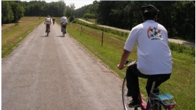 Szekszárd - Bárányfok - Duna-híd - kerékpártúra