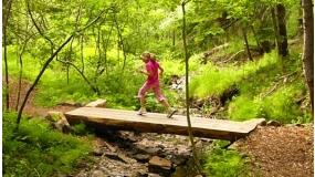A hegyifutó Világbajnok Gerlei Tamás kedvenc futóútvonala