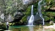 Dupla vízeséstúra Bovec környékén