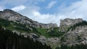 Barlangligetről a Késmárki-Zöld-tó mellett a Fehérvíz parkolóba