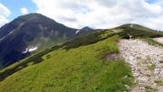 A Szürke-rétről a Rét-hegyen át a Volovecre
