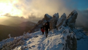 Liptóhutai-nyeregből a Szürke-hegyen át Bölényfaluba
