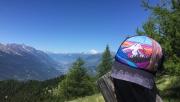 Kilátás a Mont Blanc-ra