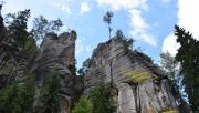 Csodálatos sziklaváros Csehországban