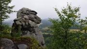 A Nagy-hasadék sziklalabirintusa és repedései