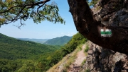 Spartacus-ösvény és Apát-kúti-patakmeder körtúra