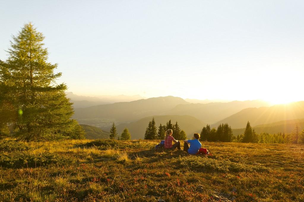 A természettel összhangban Karintiában Forrás: (c) FranzGERDL Kaernten Werbung