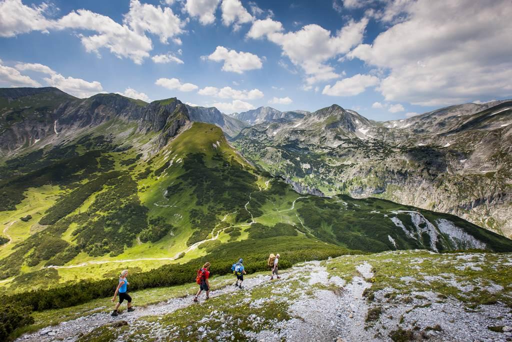 Kilátás a HOCHschwab hegyvonulatára Forrás: (c)Tom Lamm