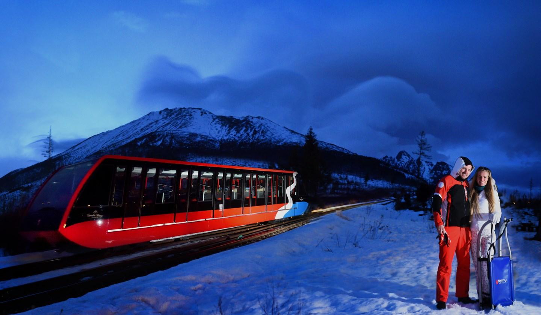 Tél a Magas-Tátrában Forrás: © Marek Hajkovsky tmr Vysoke Tatry
