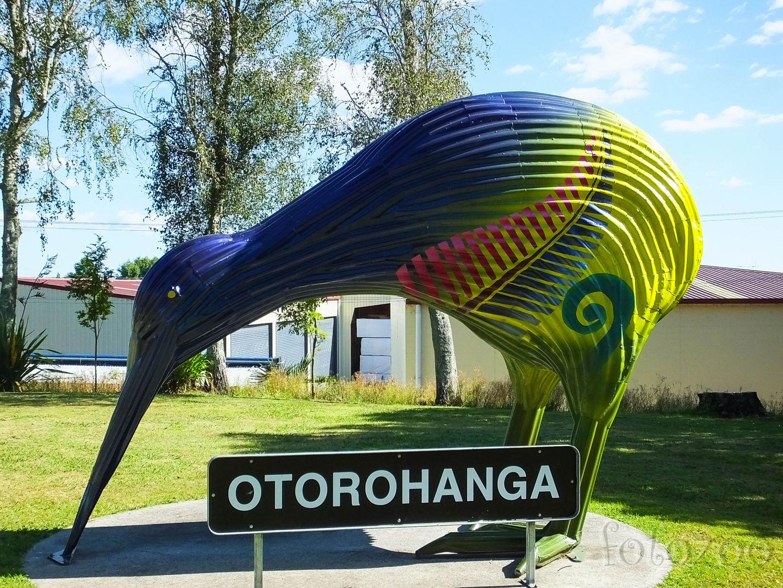 Új-Zéland kivifővárosa – Otorohanga. Itt talán Michelangelo is kivit faragott volna a márványból Dávid szobra helyett. Forrás: Fotozoo - Horváth Zoltán
