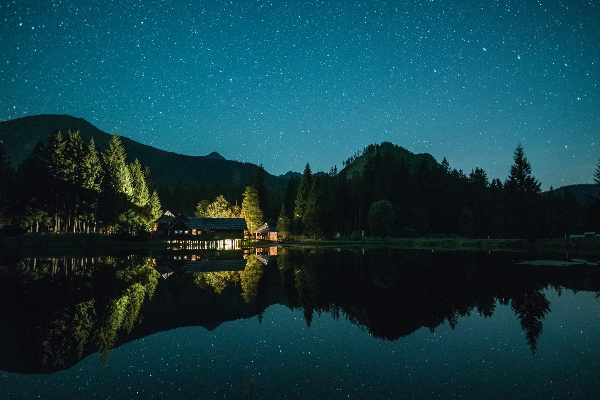 Az éjszaka varázsa Forrás: Hotel Sonnhof Hohentauern
