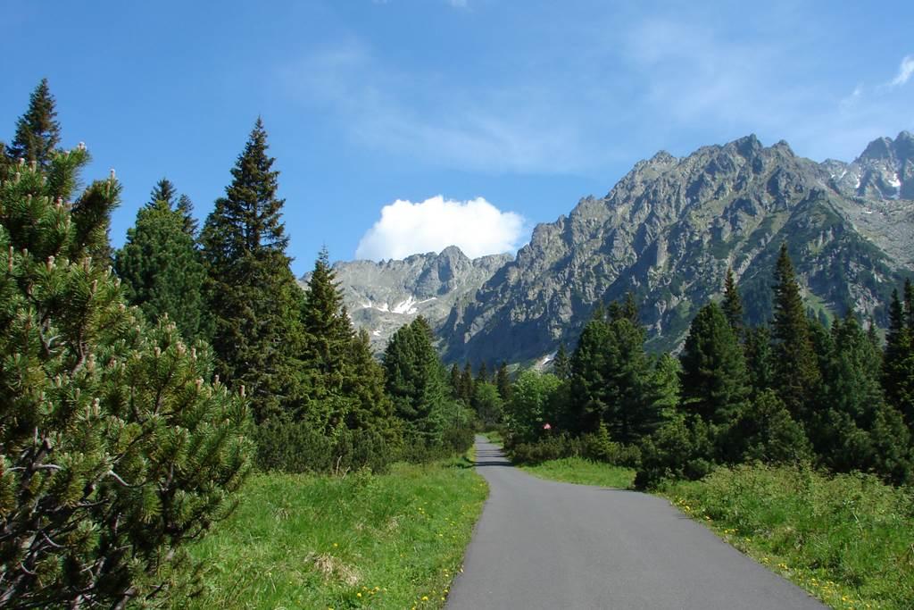 Poprádi-tó felé Forrás: Nagy Árpád
