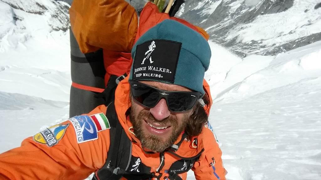 Klein Dávid és a Zyon gleccserszemüveg Forrás: Rudy Projekt