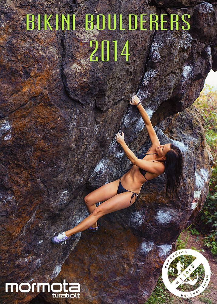 bikinis naptár Bikini Boulderers naptár 2014 bikinis naptár