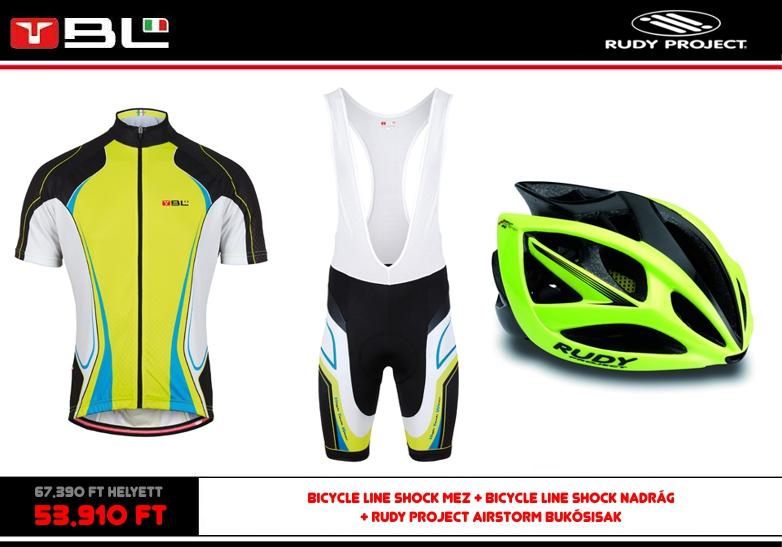 279be24ee9 Bicycle Line nyári kerékpáros ruházat s Rudy Project bukósisak akció