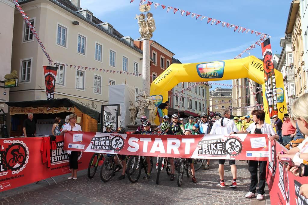 Alpe-Adria Bike Festival Forrás: (c) Kärnten Werbung