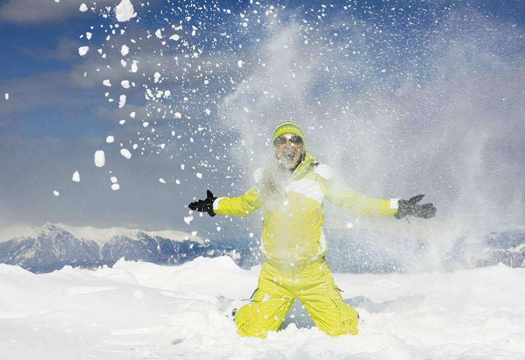 Juhhééé 125 cm hó! Forrás: Michael Pucher – www.nassfeld.at/hu