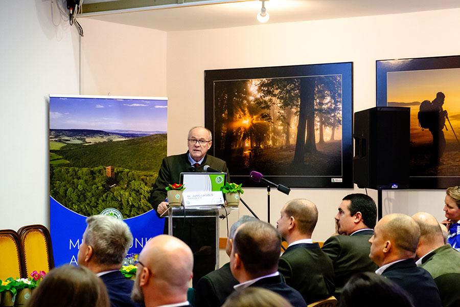 Projekt nyitórendezvény, sajtótájékoztató Forrás: http:/projekt.mtsz.org