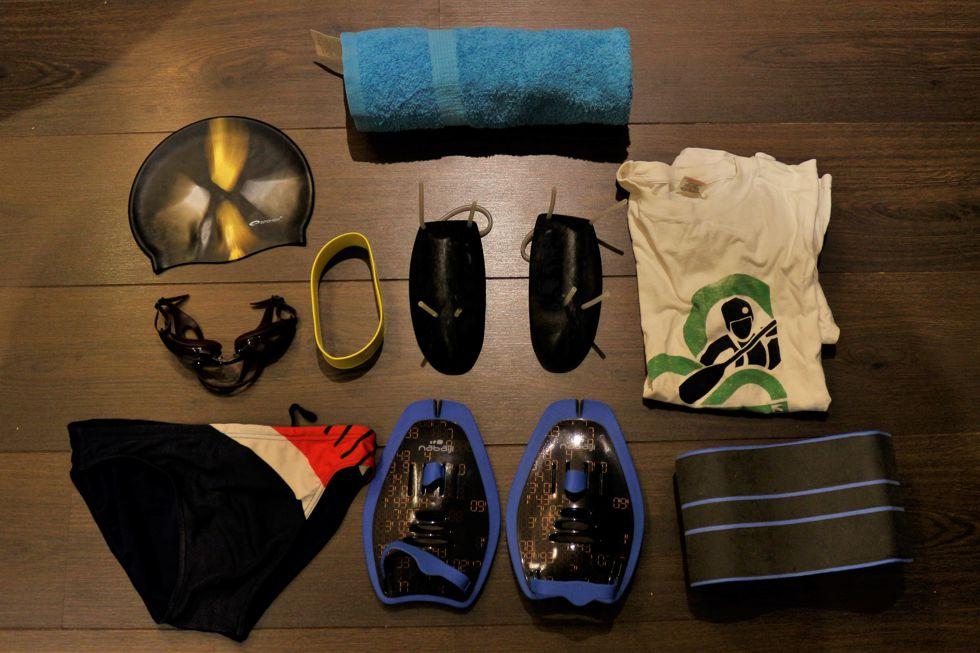 Az úszófelszerelésem Forrás: Mozgásvilág.hu