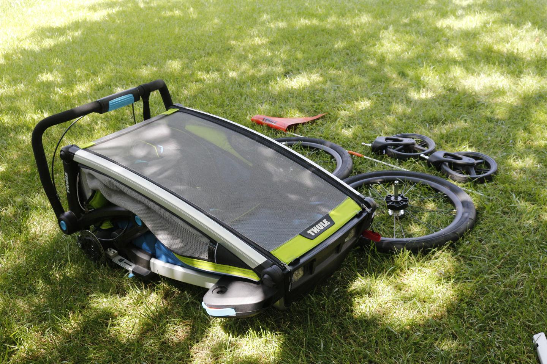 Összezárva - Thule Chariot Sport 2 Forrás: Mozgásvilág.hu
