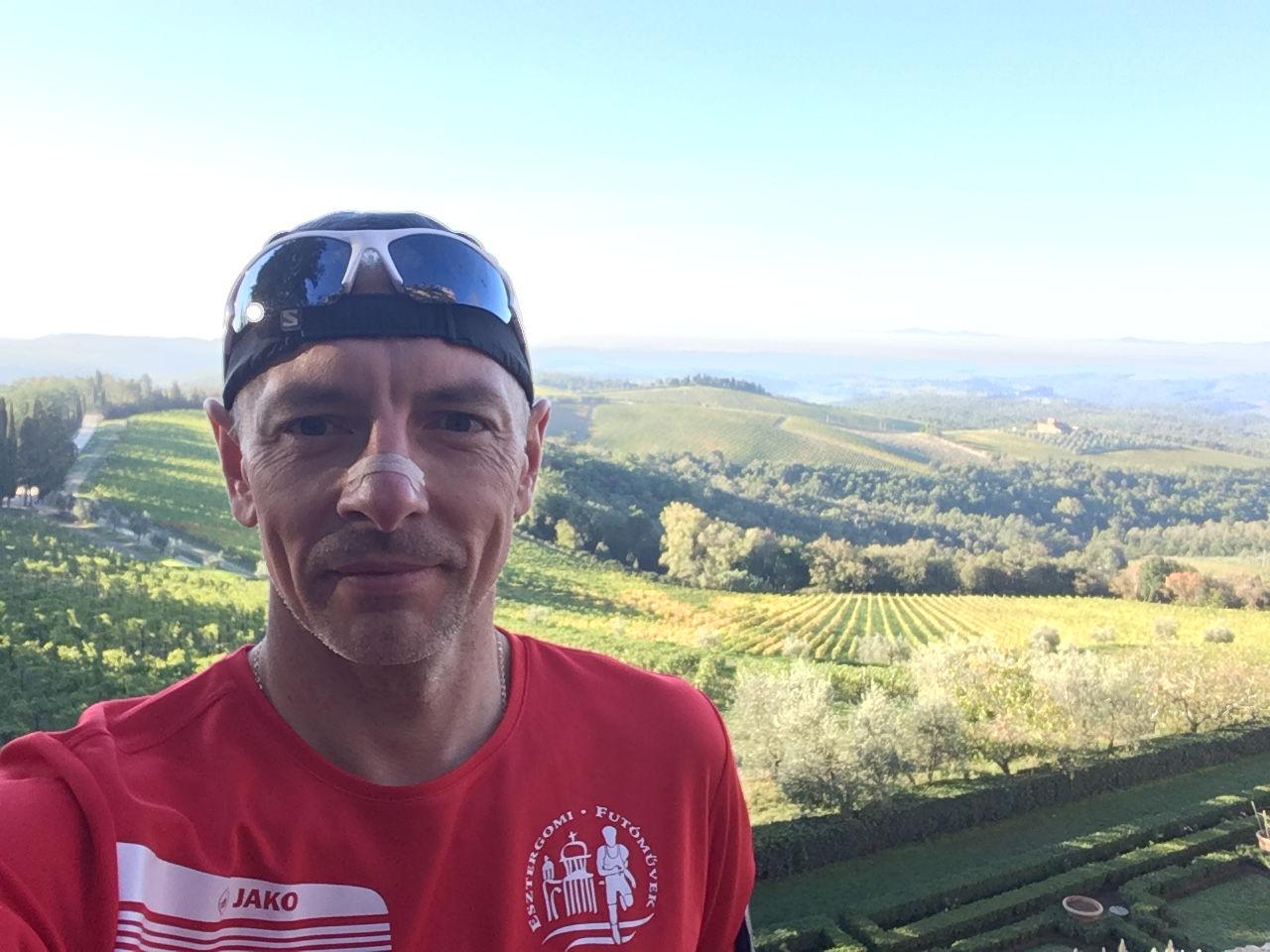 Chianti terepmaraton Forrás: Engelbrecht Zoltán