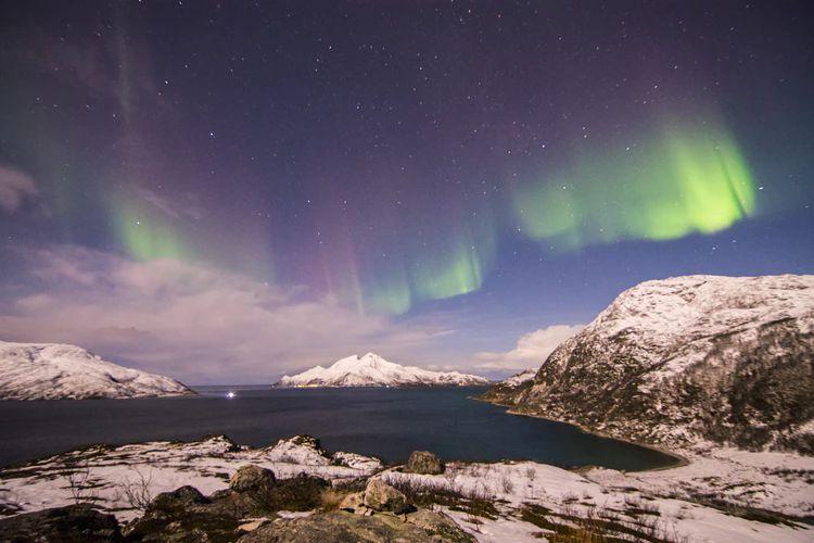 Aurora Borealis Forrás: Everypixel