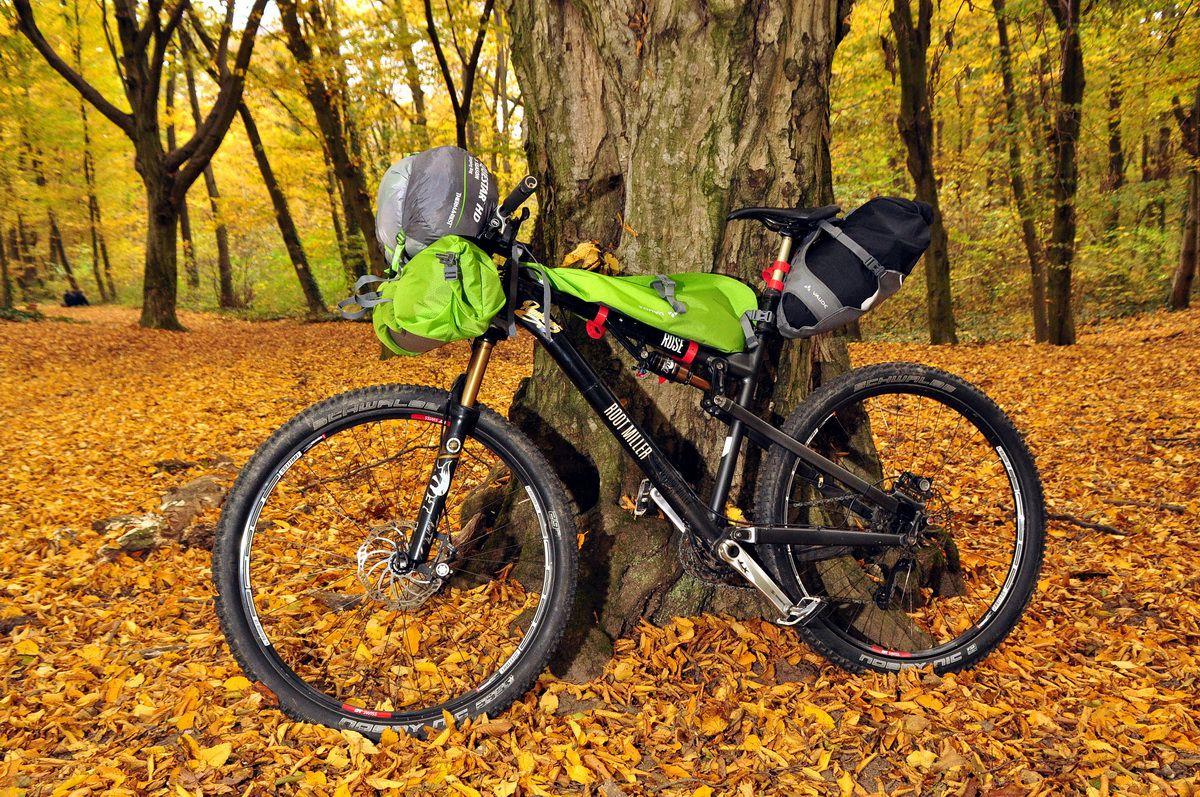 Bikepacking Forrás: Mozgásvilág.hu