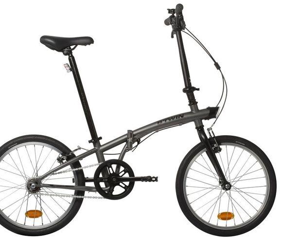 B'Twin Tilt 100 összecsukható kerékpár Forrás: Decathlon