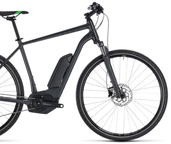 Cube Cross Hybrid Pro 500 grey´n´flashgreen 2018 Forrás: Paul-Lange.hu