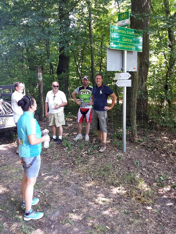 60 újonnan telepített irányító tábla jelzi az útvonalakat Forrás: www.mozgasvilag.hu