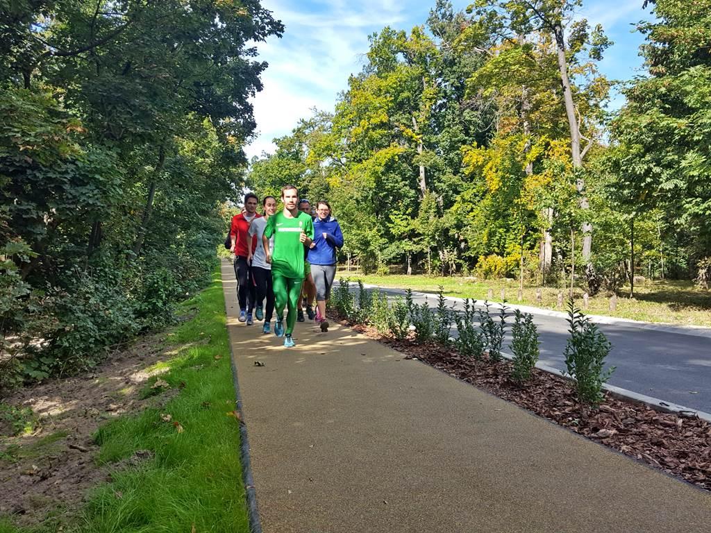 Az első futók is megérkeztek. Forrás: www.mozgasvilag.hu