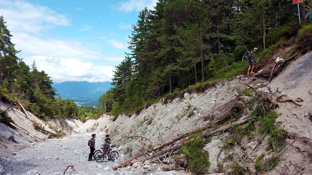 A Kopein Trail kiszáradt patakmedre Forrás: www.mozgasvilag.hu