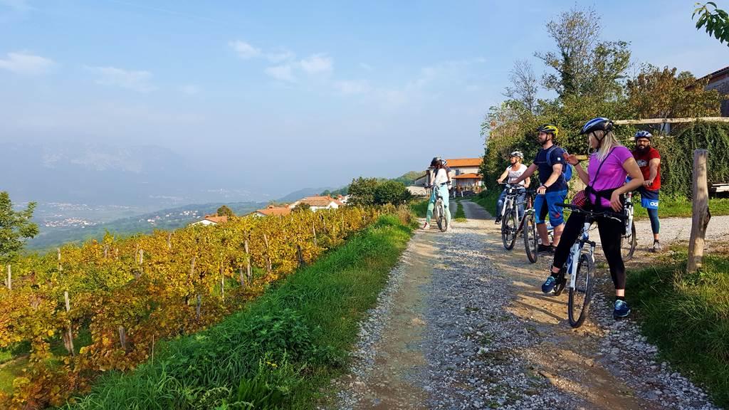 Kerékpártúra a Vipava-völgy felett Forrás: www.mozgasvilag.hu