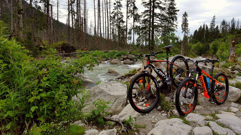 A Tar-patak és az e-bike-ok Forrás: Mozgásvilág