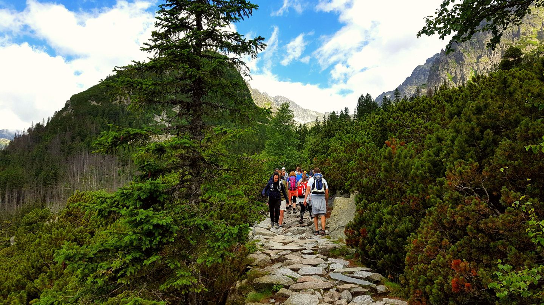 Kikövezett út vezet a völgyben Forrás: Mozgásvilág