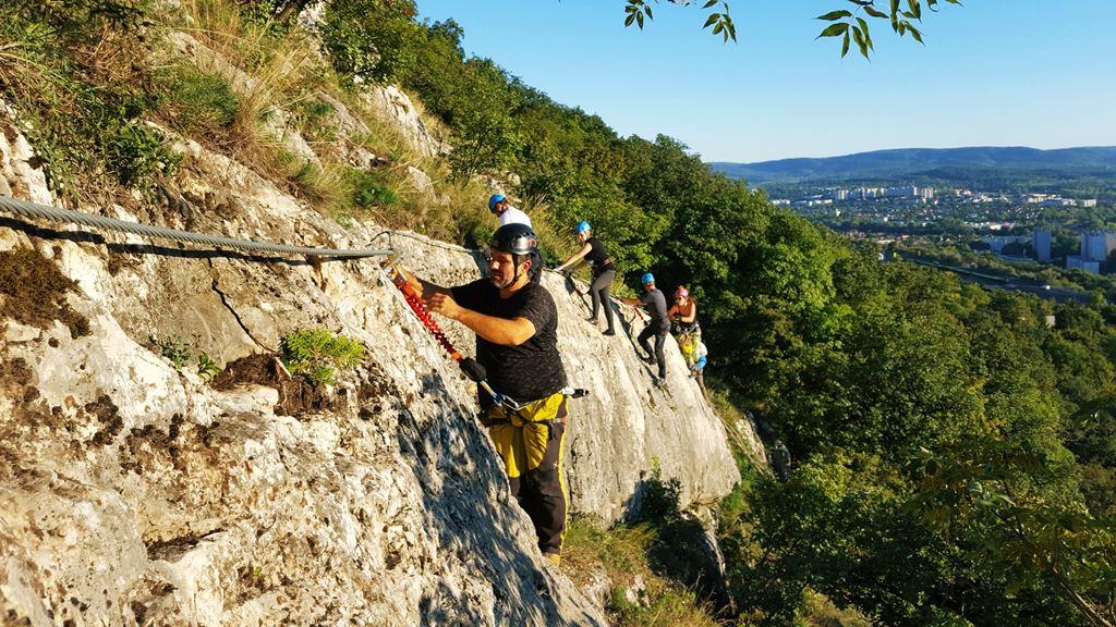 Öt vezér via ferráta Forrás: www.mozgasvilag.hu